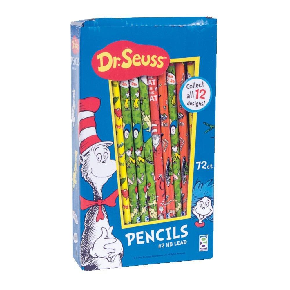 Raymond Geddes Dr. Seuss Pencils (Pack of 72)