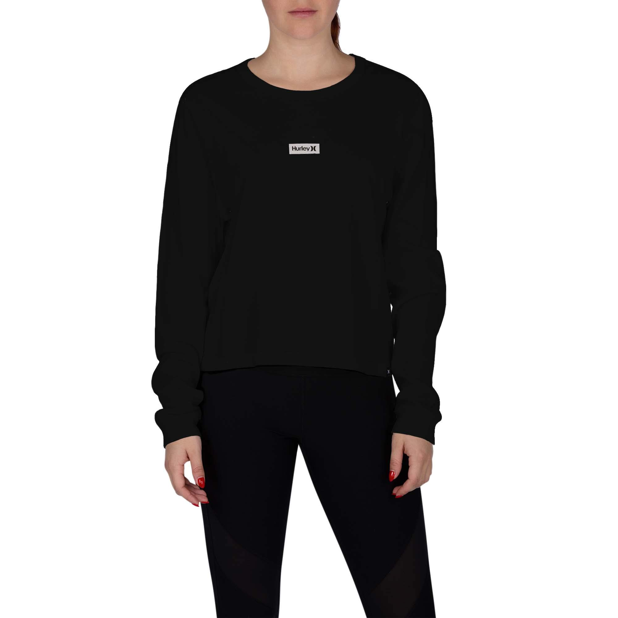 Hurley Women's One & Only Box Perfect Long-Sleeve