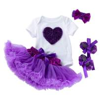 Girls Tutu Skirt Purple Baby Short Romper Infant Clothing Sets Dance Skirt Lace Pettiskirt Infant Clothes & Shoes