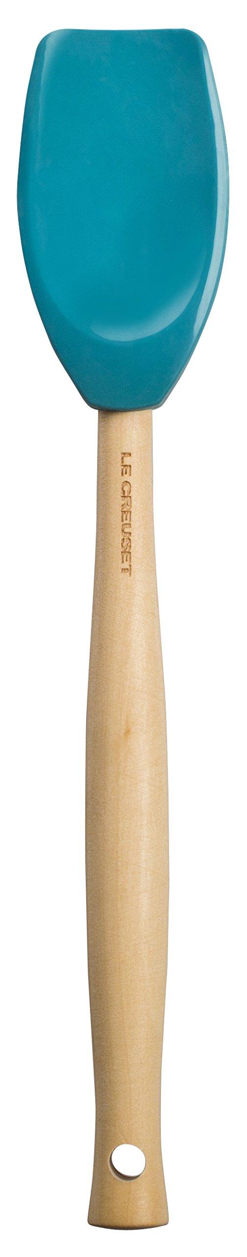"Le Creuset JS420-17 Craft Series Spatula Spoon, 11 3/8"" x 2 1/8"", Caribbean"