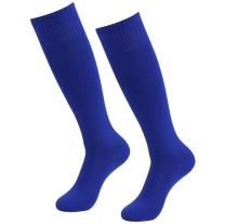 Soccer Socks, RTZAT Unisex Solid Knee High Tube Team Sports Football Socks, 2,6,12 Pairs