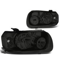 DNA Motoring HL-OH-109-SM-CL1 Smoke Lens Headlights Replacement For 05-07 Escape