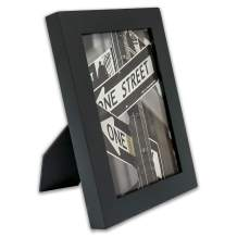 """The Display Guys –– Solid Pine Wood Picture Frame with Mat – Wall Mounting – Tabletop Display- 4"""" x 6"""""""