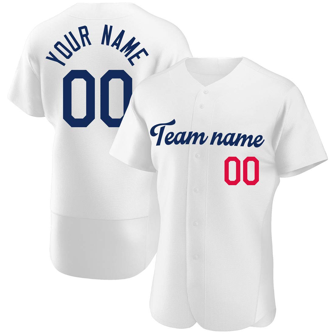 Custom Boys/Girls Baseball Jerseys Small Button Down,Design Team/Player/Family Sport Shirts Embroidery