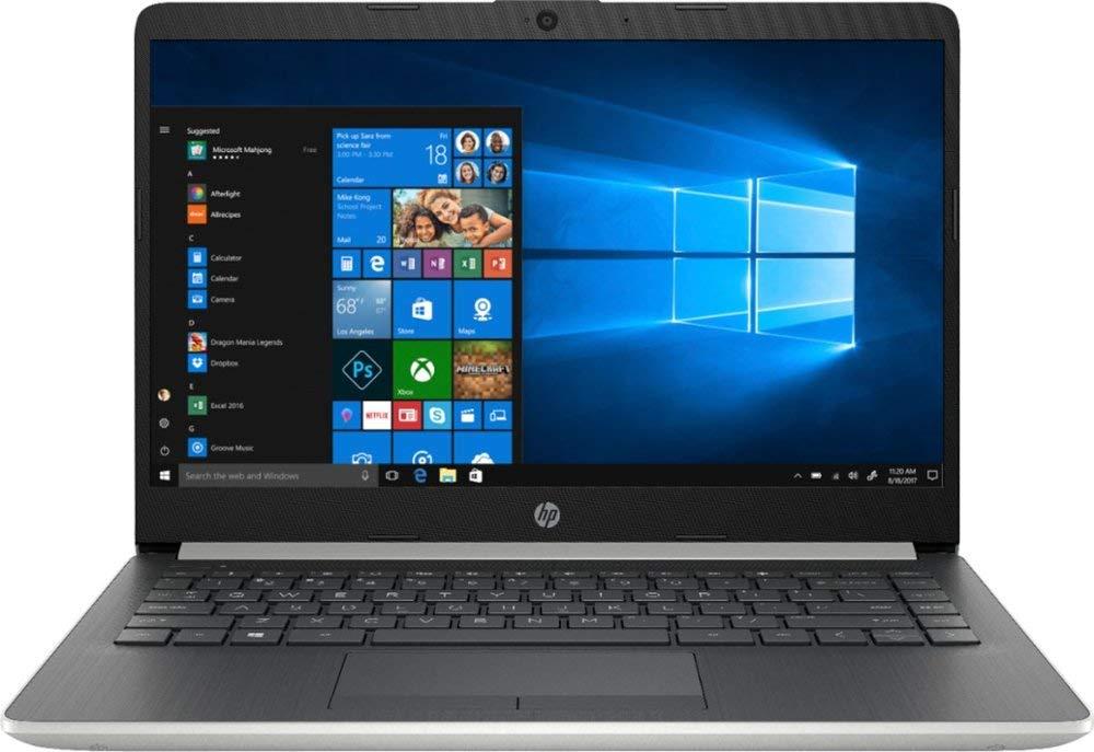 "2020 HP Premium 14"" Micro-Edge Laptop Computer, AMD A9-9425 up to 3.7GHz, 16GB DDR4 RAM, 512GB PCIe SSD, WiFi, Bluetooth 4.2, USB Type-C, HDMI, Webcam, Silver, Windows 10 Home, YZAKKA Mouse Pad"