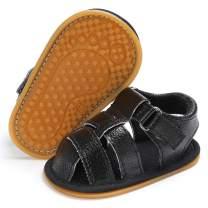 E-FAK Infant Baby Boys Girls Summer Sandals Outdoor Beach Anti-Slip Rubber Soft Sole Newborn Toddler First Walker Shoes