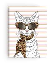 Paper House Productions JL3008 Fashion Cat Softcover Journal Dot Grid Notebook