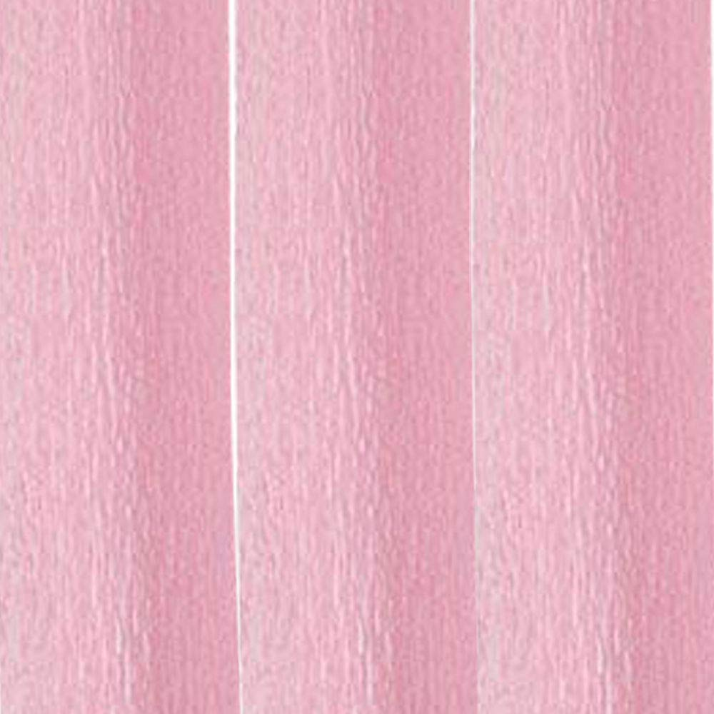 Just Artifacts 70g Premium Crepe Paper Rolls - 8ft Length/20in Width (Set of 3, Color: Carnation Pink)