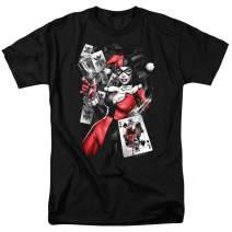Harley Quinn DC Comics Joker Cards T Shirt & Stickers