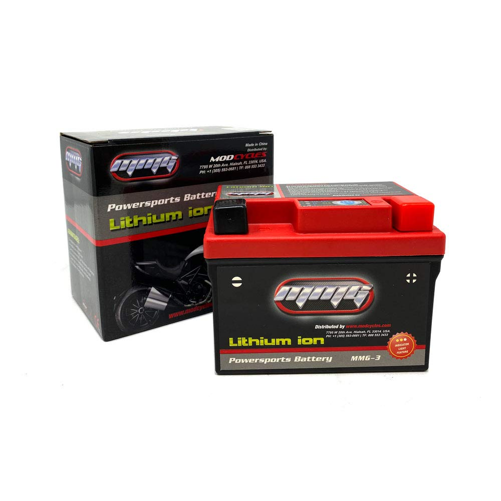 MMG YTZ7S Lithium Ion Sealed Factory Activated Powersports Battery 12V 150 CCA Replaces: CTZ7S GTZ7S PTZ7S FAYTZ7S M727ZS (MMG3)