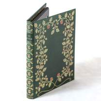 Kindle Case with Foldback Classic Book Cover (My Book Floral Green)