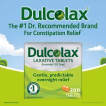 Dulcolax Laxative 5 mg - 200 Tablets (2 Packs)