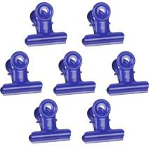 JAM PAPER Metal Bulldog Clips - Medium - 31mm - Purple - 15/Pack
