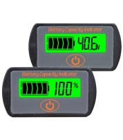 CPTDCL Touch Control Button Multifunction 36V Lead Acid Battery Capacity Indicator Voltage Tester LCD Battery Power Meter Voltmeter
