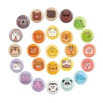 25 Pcs Animal Fridge Magnets for Refrigerator,Whiteboard School Office Locker Accessories Funny Cute Gifts for Kids Toddlers And Adults