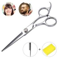 ACMETOP 6.5 inch Hair Scissors, Professional Hair Cutting Scissors, Right Handed Hair Shears With Sharp Blades and Ergonomic Design Handle, Barber Scissors Kit for Hairdressing, Home Salon