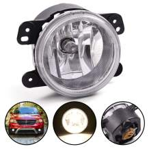 For Dodge Charger Journey Jeep Grand Cherokee Wrangler Cherokee Fog Light With Bulbs Driving Fog Lamp Assembly Replacement CH2594103