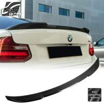 AeroBon Real Carbon Fiber Trunk Spoiler for 14-19 BMW F22 2-Series/ F87 M2 (C Style)