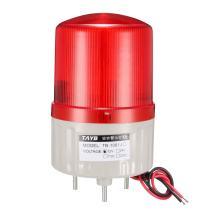 uxcell LED Warning Light Bulb Bright Industrial Signal Alarm Lamp Buzzer 90dB DC12V Red TB-1081J