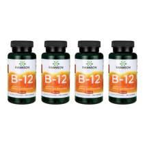 Swanson Vitamin B-12 500 mcg 250 Caps 4 Pack