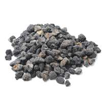 "Stanbroil 10 Pounds Lava Rock Granules for Fire Bowls,Fire Pits,Gas Log Sets, and Indoor or Outdoor Fireplaces - Medium (1/2""- 1"")"