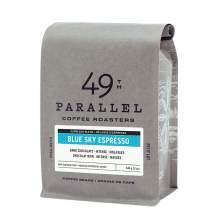 49th Parallel Coffee Roasters – Blue Sky Espresso Whole Beans - Gourmet Dark Roast Coffee, 12oz