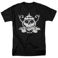 Adventure Time Skull Face Cartoon Network T Shirt & Stickers