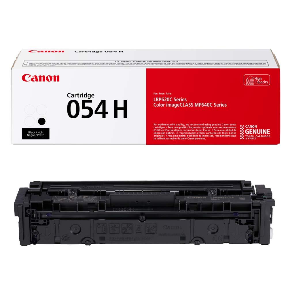 Canon Genuine Toner, Cartridge 054 Black, High Capacity (3028C001) 1 Pack, for Canon Color Image Class MF641Cdw, MF642Cdw, MF644Cdw, LBP622Cdw Laser Printers