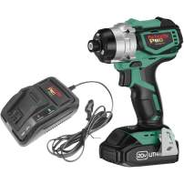Grizzly PRO T30291X1-20V Impact Driver Kit with Li-Ion Battery & Charger