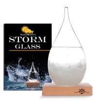 Storm Glass Weather Station Old Captain FitzRoy's Storm cloud Barometers Crystal Weather Forecast Bottle Desktop Decorative Bottles Crafts