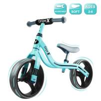 Dripex Baby Balance Bike Bicycle for Kids and Toddlers