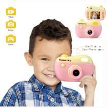 ZMZS Kids Camera Digital Video Camera for Boys Girls, 8M Children's HD Cartoon Rechargeable 1080P Video Camera for Kids 3 Years and Up, Photo Video Playback Game 4 Mode
