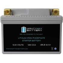 YTZ7S-LIFEPO4 12V 140CCA Lithium Iron Phosphate Battery - Mighty Max Battery Brand Product