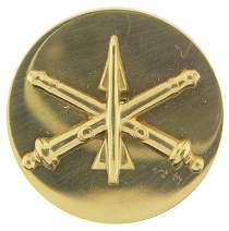 """United States Army Enlisted Branch of Insignia 1"""" Lapel Pin"""