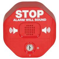 Safety Technology International, Inc. STI-6400 Exit Stopper Multifunction Door Alarm, Helps Prevent Unauthorized Exits or Entries Through Emergency Doors