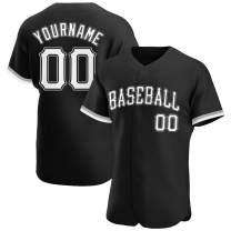 Custom Baseball Jersey Personalized Stitched Baseball Shirt Novelty Button-Down Uniform for Men/Women/Youth/Preschool