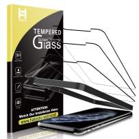 HATOSHI (3 Pack) Screen Protector for iPhone 11 Pro/iPhone Xs/iPhone X Tempered Glass - Alignment Tray Easy Installation [Case Friendly] HD Clarity 9H Glass Screen Protector (5.8'')