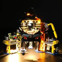 LIGHTAILING Light Set for (Ninjago Movie Garmadon's Volcano Lair) Building Blocks Model - Led Light kit Compatible with Lego 70631(NOT Included The Model)