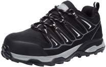 LARNMERN Steel Toe Safety Shoes Men Full Grain Leather Slip Resistant ESD Indestrutible Work Shoe