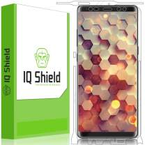 IQ Shield Full Body Skin Compatible with Samsung Galaxy Note 8 + LiQuidSkin Clear (Full Coverage) Screen Protector HD and Anti-Bubble Film