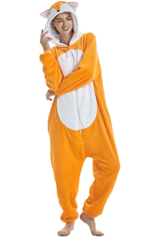 XVOVX Adults Children Unicorn Animal Cosplay Costume Pajama Onesie Jumpsuit