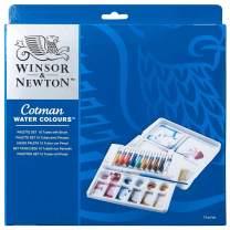 Winsor & Newton Cotman Water Colour Paint Palette Set, Set of 10, 8ml Tubes