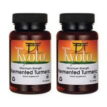 Swanson Maximum Strength Fermented Turmeric 760 Milligrams 30 Capsules (2 Pack)