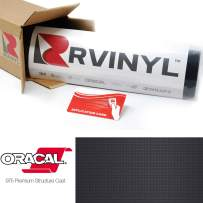 ORACAL 975 Carbon Fiber Anthracite 093-CF Wrapping Structure Cast Film Vehicle Car Wrap Vinyl Sheet Roll - (1ft x 5ft w/App Card)