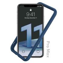 RhinoShield Bumper Case Compatible with [iPhone 11 Pro Max]   CrashGuard NX - Shock Absorbent Slim Design Protective Cover 3.5M / 11ft Drop Protection - Royal Blue