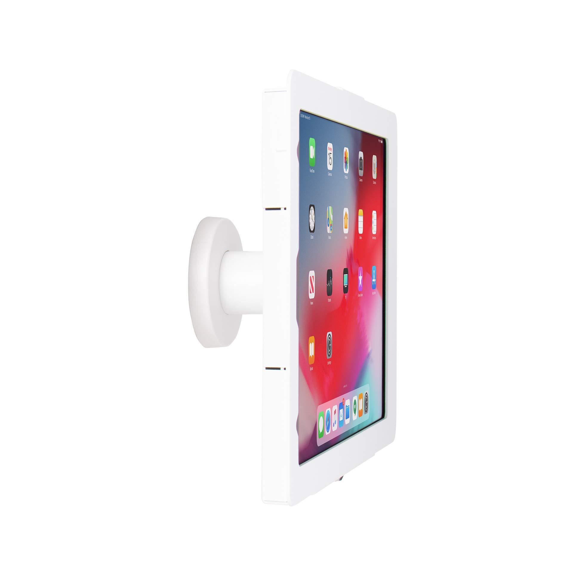 """The Joy Factory Elevate II On-Wall Retail Kiosk for iPad Pro 12.9"""" [3rd Gen] (KAA704W)"""