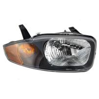 Aftermarket Replacement Passenger Headlight Compatible with 2003 2004 2005 Cavalier 22707273