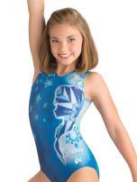 GK Girl's Disney's Frozen Elsa Gymnastics Leotard