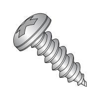 """18-8 Stainless Steel Sheet Metal Screw, Plain Finish, Pan Head, Phillips Drive, Type AB, #2-32 Thread Size, 1/2"""" Length (Pack of 100)"""