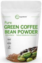 Maximum Strength Pure Green Coffee Bean Extract, 4 Ounce, Supports Metabolism for Weight Management and Fat Burn, No GMOs and Vegan Friendly